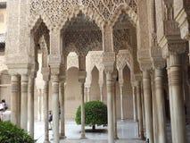 alhambra Granada Spain Obraz Royalty Free