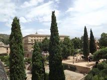 alhambra Granada Spain Fotografia Royalty Free