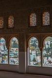 alhambra granada spain Arkivfoto
