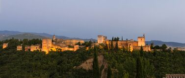 Alhambra Granada Spain Royalty Free Stock Photography