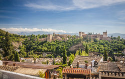 Alhambra, Granada, Spain Royalty Free Stock Image