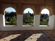 Alhambra Granada Royalty Free Stock Photo