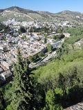 Alhambra Granada Stock Photography
