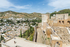 The Alhambra in Granada, Spain Royalty Free Stock Images