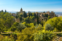 Alhambra, Granada, Spain Royalty Free Stock Photo