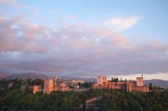 Alhambra in Granada, Spain Stock Photography