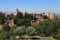 Alhambra, Granada, Spain stock photography