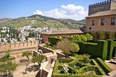 Alhambra, Granada, Spain Stock Photos