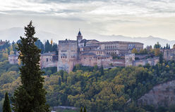 The Alhambra of Granada, Spain Royalty Free Stock Images