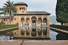 Alhambra of Granada-Spain stock photography