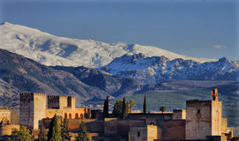 Alhambra of Granada Royalty Free Stock Images