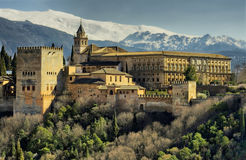 Alhambra of Granada Stock Images