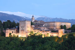 The Alhambra - Granada Spain Stock Photo