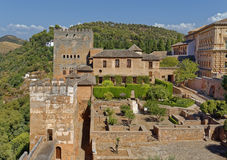 The Alhambra in Granada, Spain Stock Photography