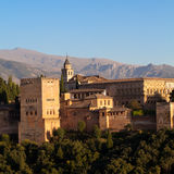 Alhambra in Granada - Spain Stock Photography