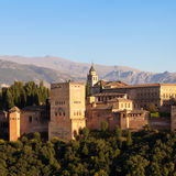 Alhambra in Granada - Spain Royalty Free Stock Image