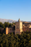 Alhambra in Granada - Spain Stock Photo