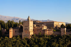 Alhambra in Granada - Spain Stock Images