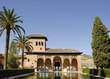 Alhambra Granada Spanien Stockfotos