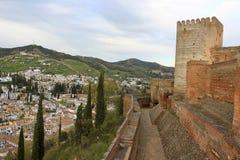 Alhambra, Granada Spanien Lizenzfreies Stockfoto