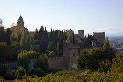 Alhambra, Granada, Spanien Lizenzfreie Stockbilder