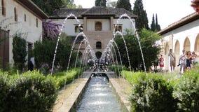 Alhambra, Granada, Spanien Stockfotografie