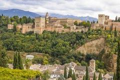 Alhambra in Granada, Spanien Lizenzfreie Stockfotografie