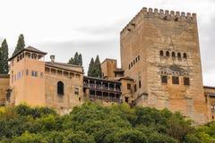 Alhambra in Granada, Spanien Stockfoto