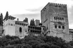 Alhambra, Granada, Spanien Lizenzfreie Stockfotos