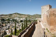 Alhambra - Granada - Spanien Royaltyfri Fotografi