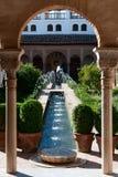 Alhambra. Granada. Spanje Stock Afbeeldingen
