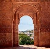 Alhambra. Granada. Spanje Stock Foto