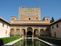 Alhambra in Granada, Spanje royalty-vrije stock foto