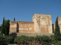 Alhambra in Granada, Spanje Stock Fotografie