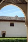 Alhambra, Granada, Spanje Stock Foto