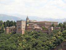 Alhambra, Granada, Spanje Royalty-vrije Stock Afbeelding