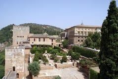 Alhambra, Granada, Spanje Stock Afbeelding