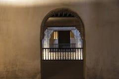 Alhambra in Granada, Spanje Royalty-vrije Stock Fotografie