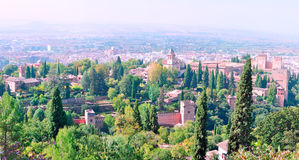 The Alhambra in Granada Royalty Free Stock Images