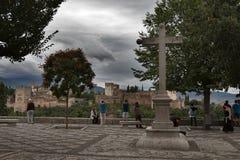Alhambra-Grenade image stock