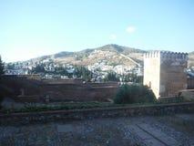 Alhambra, Grenade image libre de droits
