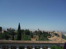 Alhambra, Grenade photos libres de droits