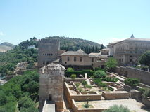Alhambra, Grenade images stock