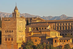 Alhambra, Grenade, Espagne Photos stock