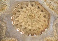 Alhambra-Innenraum in Granada, Spanien Stockfotos