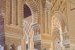 Alhambra interior Royalty Free Stock Images