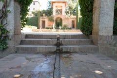 Alhambra Islamic Royal Palace, Granada, Espanha Século XVI foto de stock