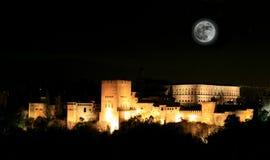 alhambra la Royaltyfri Bild