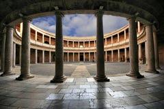 alhambra la Royaltyfri Fotografi