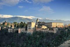 alhambra la Fotografering för Bildbyråer
